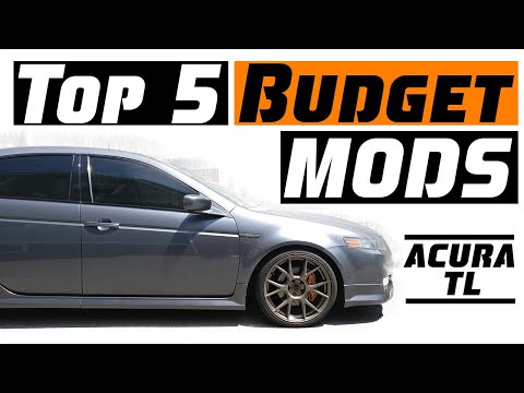 Top 5 Budget Mods For The Acura TL