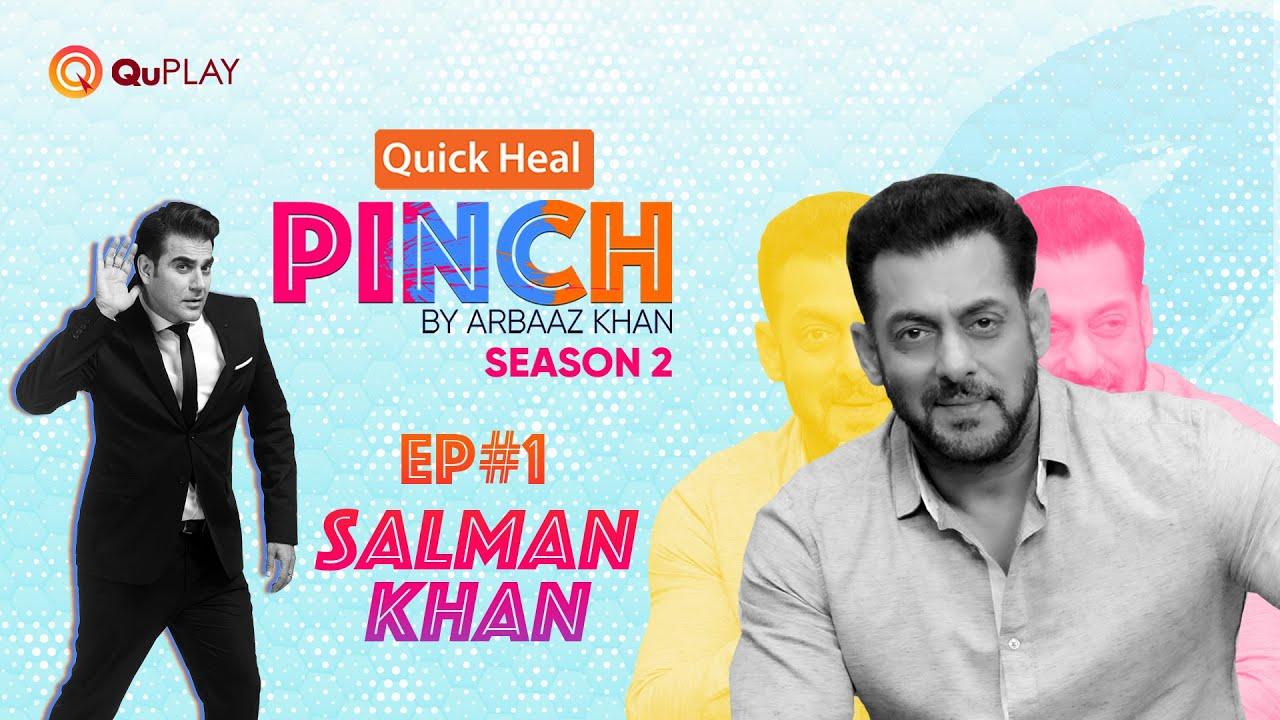 Download Quick Heal Pinch by Arbaaz Khan S2 Ep#1 | Salman Khan | Official Episode 1