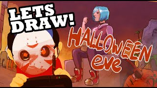 Halloween Eve - Lets Draw [Concept art]