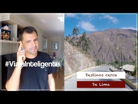 Destinos para viajar cerca de Lima