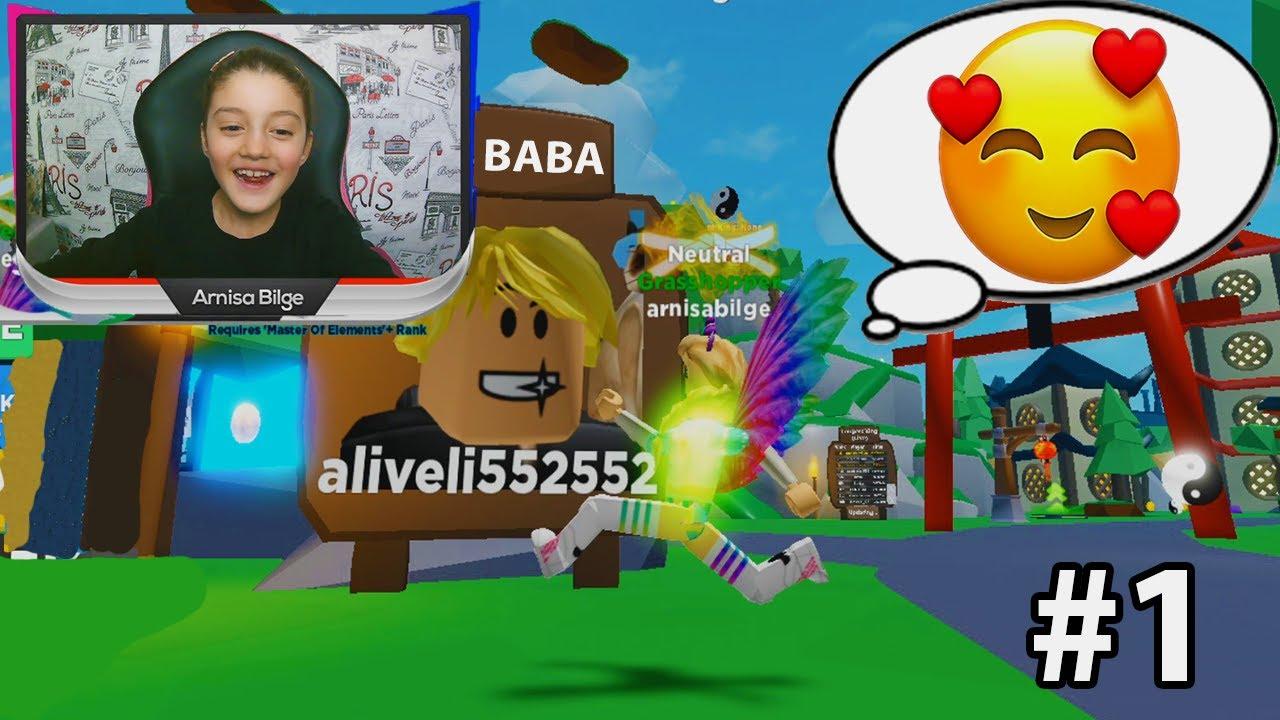 Kizi Babasina Ninja Olmayi Ogretiyor Roblox Ninja Legends Youtube