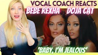 Vocal Coach/Musician Reacts: BEBE REXHA & DOJA CAT 'Baby I'm Jealous'