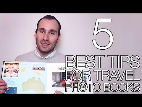 5 BEST TIPS FOR TRAVEL PHOTO BOOKS