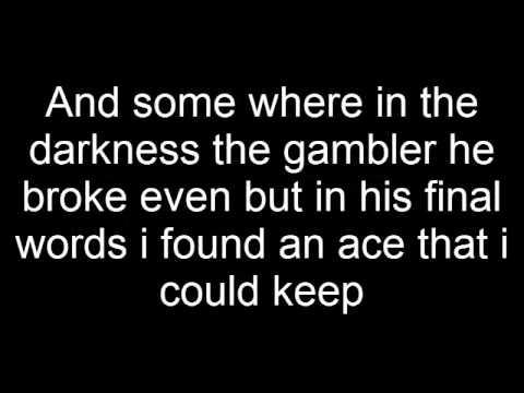 Kenny Rogers-The Gambler-Lyrics - YouTube