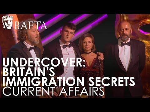 Undercover: Britain's Immigration Secrets (Panorama) wins Current Affairs | BAFTA TV Awards 2018