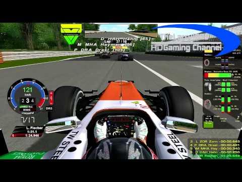 rF1-Simracing.eu - OnBoard Italian Grand Prix