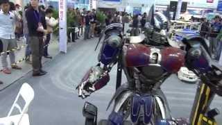 Роботы из будущего. Выставка China Hi-Tech Fair 2014
