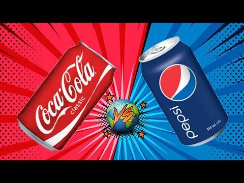 COCA COLA vs PEPSI 🌐 ¿Quien domina en el mundo?