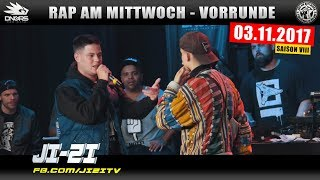 RAP AM MITTWOCH KÖLN: 03.11.17 Vorrunde feat. JI-ZI, NOTYZZE, VYRUS, JOLLE uvm. (2/4)
