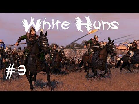 Ep3 Total War Attila White Huns vs Sassanids Epic Bridge Battle 2400 vs 6100