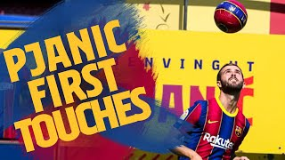 ⚽ PJANIĆ'S first touches at Camp Nou! 🏟️
