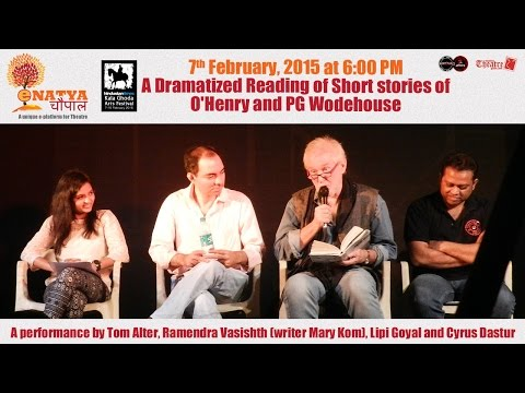 Kala Ghoda Arts Fest 2015: Dramatized Reading of Short stories of O'Henry and PG Wodehouse