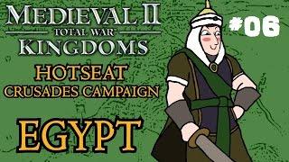 Medieval 2: Total War - Kingdoms Crusades Hotseat Campaign - Part 6!