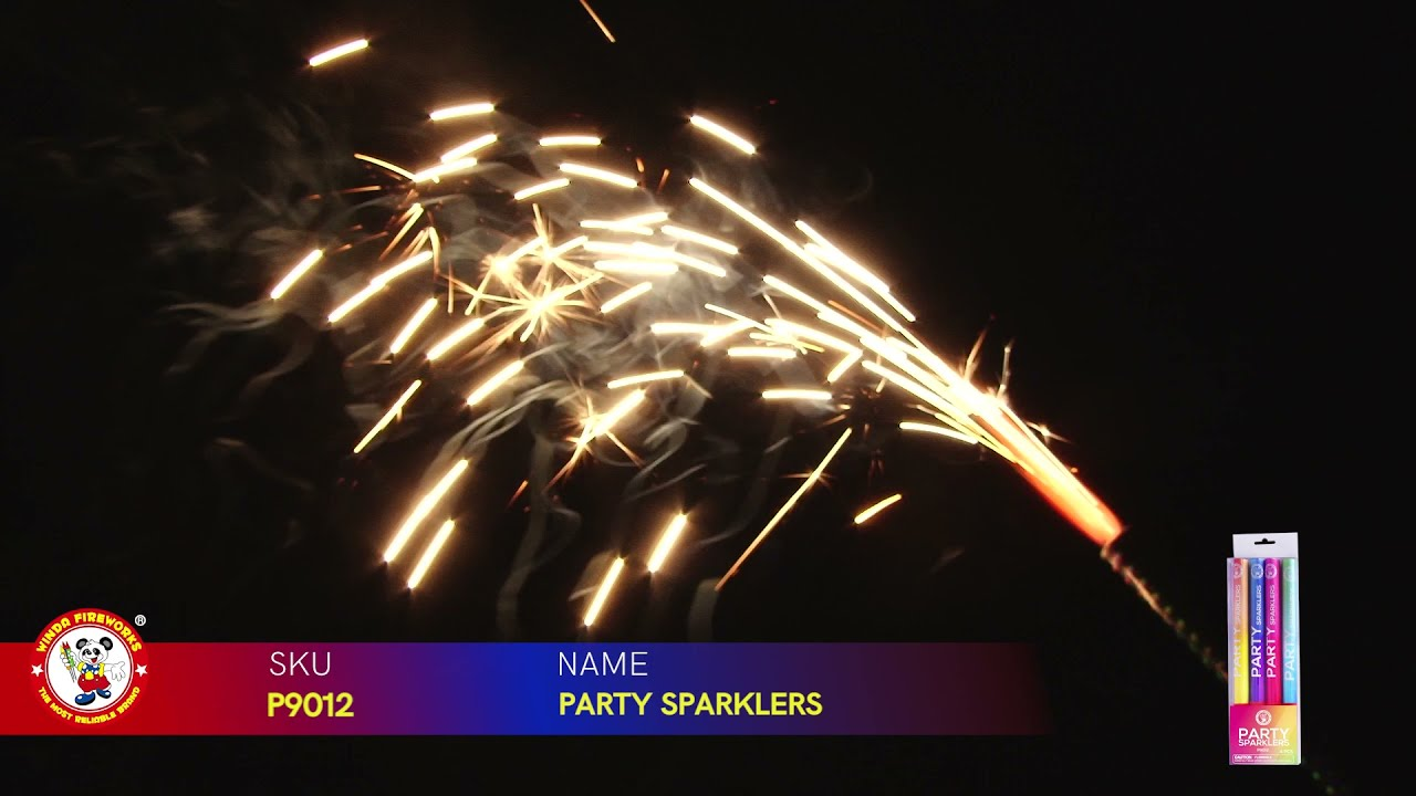 PARTY SPARKLERS P9012 WINDA FIREWORKS 2022 NEW ITEMS