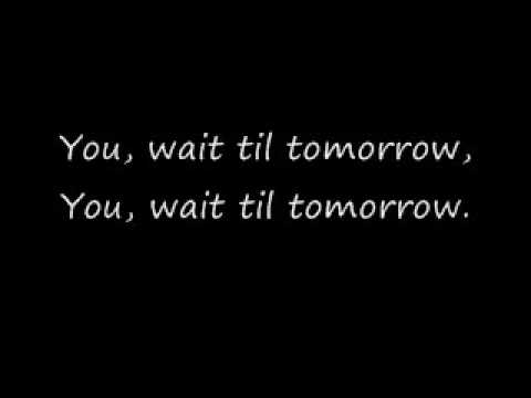 Silverchair-Tomorrow(with fancy lyrics)