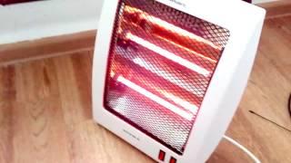 видео Инфракрасный обогреватель