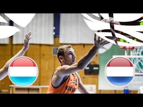 Luxembourg v Netherlands - Full Game - FIBA U20 European Championship Division B 2018