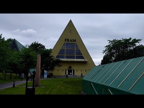 Tour of the Fram Museum in Oslo, Norway
