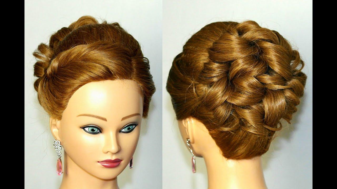 prom hairstyle medium long