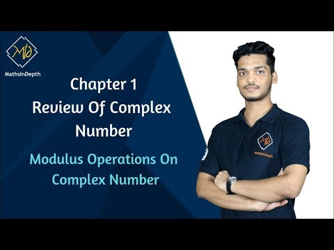 CN/I6 - Modulus Operations on Complex Number | Complex numbers | Applied Mathematics thumbnail