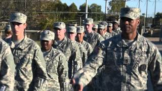 This video takes a look at what a new recruit will experience at th...