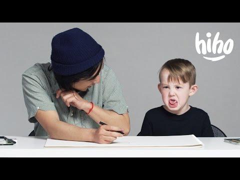 Kids Describe Love to an Illustrator | Kids Describe | HiHo Kids
