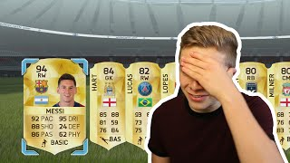 FIFA 16 - THE WORST TIME TO PACK MESSI