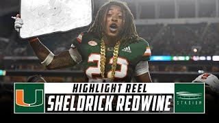 Sheldrick Redwine Miami Football Highlights - 2018 Season | Stadium