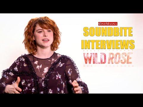 Wild Rose Movie Behind The Scenes Interview With Jessie Buckley (2019)