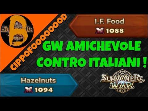 DERBY ITALIANO! Bonalamas VS I.F. Food | Summoners War GW ITA ft. Cippofood