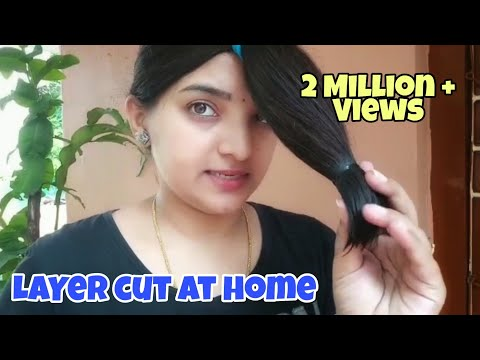 How To Do Layer Cut Easily At Home....