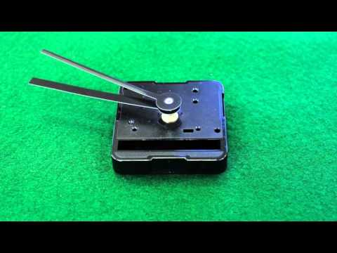 Quality Clock Making Using the ISI Clock Motor