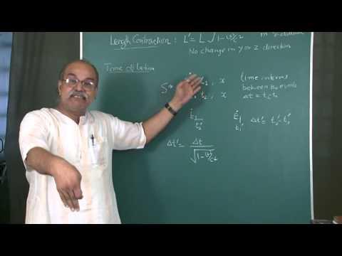 E  Field, B  Field and Relavity  Hindi  1