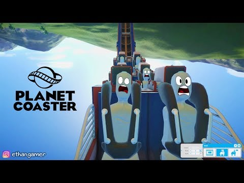 BUILDING MY FIRST RIDE | Planet Coaster