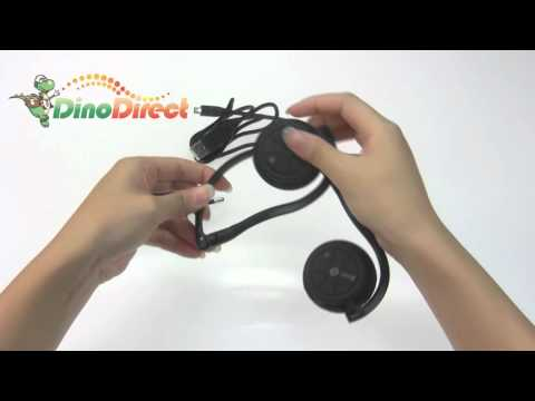 Ever-e T905S Stereo Wireless Bluetooth Headset Headphone  from Dinodirect.com