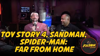 Toy Story 4, Sandman, Spider-Man: Far From Home