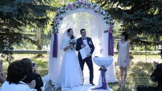 Кристина и Данила 19 сентября 2014. Свадьба под ключ