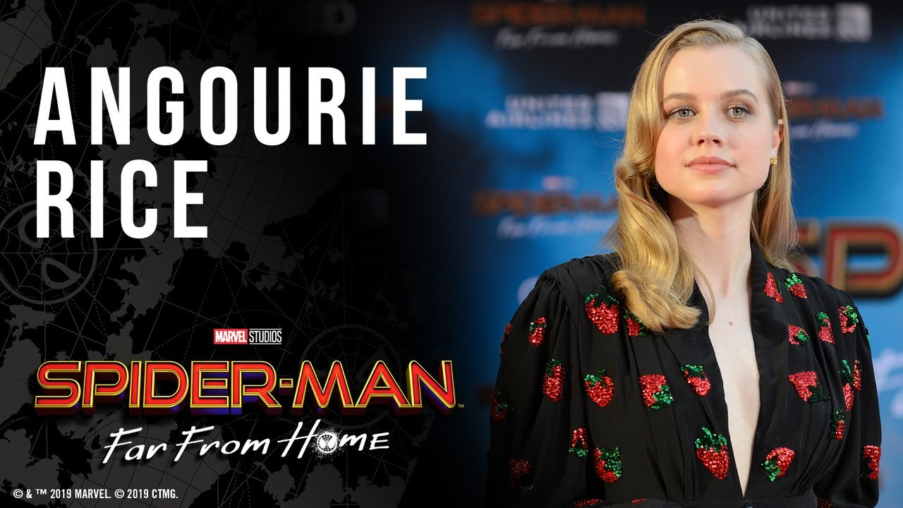 Angourie Rice answers fan questions LIVE from the Spider-Man: Far From Home  red carpet