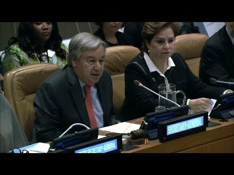 UN Chief on the Implementation of the Paris Agreement on Climate Change