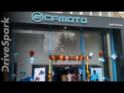 CFMoto Inaugurates First Dealership In Bangalore: CFMoto Aroush Motors Walkaround
