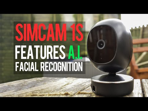 The Simcam 1S Security Cam Uses AI to Recognize The Things That Matter