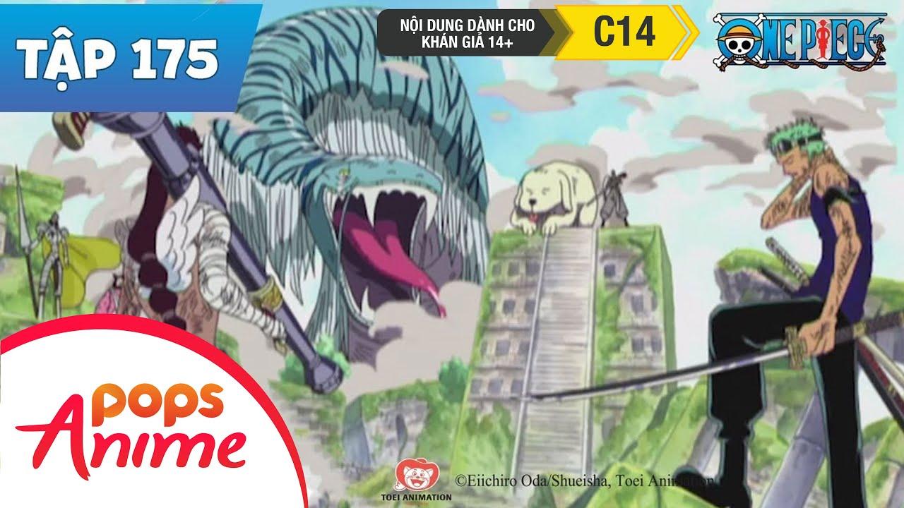 One Piece Tập 175 – Khả Năng Sống Sót Là 0% – Chopper Đối Đầu Với Tu Sĩ Ohm – Phim Hoạt Hình