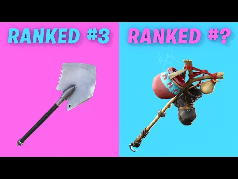 10 Most TRYHARD Pickaxes In Fortnite Season 9