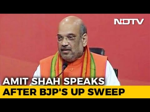 PM Modi Most Popular Leader Since Independence: Amit Shah Victory Speech