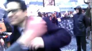 Джей Джей Абрамс на премьере фильма Стартрек: Возмездие в Москве