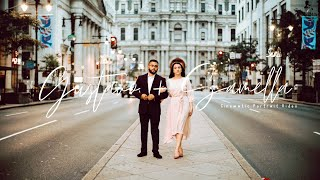 Cinematic Portrait Video with Gustavo + Samella | Philadelphia, Pennsylvania