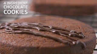 4 Ingredient Chocolate Cookies