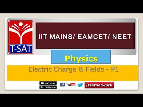 PHYSICS || Electric Charge & Fields - P1 || Ch.Vishvasu