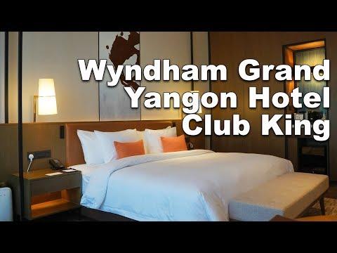 Wyndham Grand Yangon Hotel - Club King Room