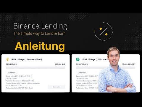 15% Zinsen verdienen mit Binance (Lending Anleitung)